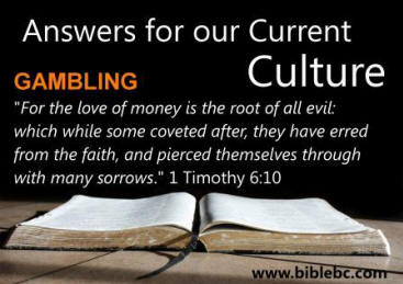 God's Answers About Gambling Part 2